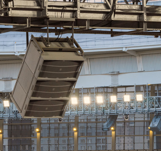 ICS | Professional Audio Reinforcement Solutions for Stadiums